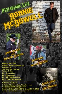 Ronnie McDowell LIVE!