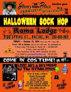 Halloween Sock Hop
